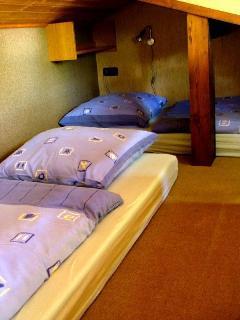 Die Schlafkoje besonders geeignet für Kids ab ca. 5 Jahren