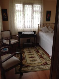 Single bed room.The furniture of this room is original vintage from 1900's