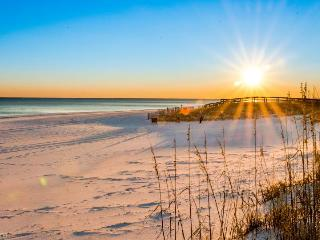 Oceanfront house w/private beach access - dog okay, stunning beach views!, Destin