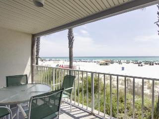 Intimate Gulf front condo for four with community pool - snowbirds welcome!