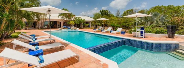 Villa La Pergola SPECIAL OFFER: St. Martin Villa 81 A Classic French West Indies Villa With A Great Relaxing Ambiance Provided By Its Luxurious Mediterranean Style., Terres Basses