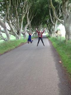The Dark Hedges - scene of 'Game of th Thrones' only 30 minutes away