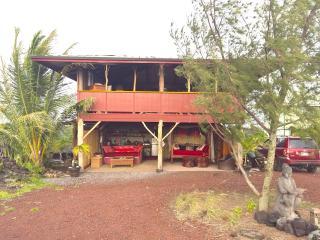 Magical Lava Temple on Big Island, Hawaii