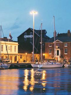 Poole Quay is a favourite spot for our visitors day or evening.