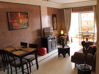 2 Pièces Centre ville - Terrasse & Piscine, Marrakech