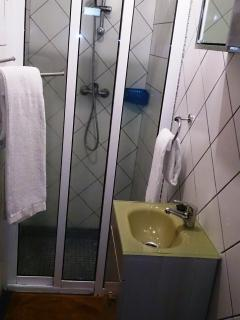home bath with shower