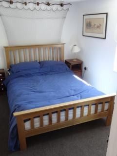 The 'new' double bedroom