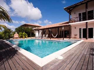 Kas Vis, a spacious villa with palm tree garden and private pool at Punt Vierkan