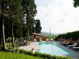 Villa with private pool & garden on chianti hill, Molino del Piano