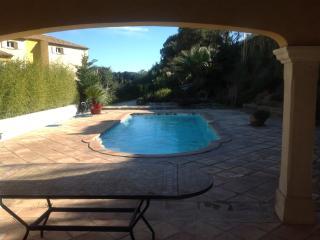Villa les oliviers avec piscine privee