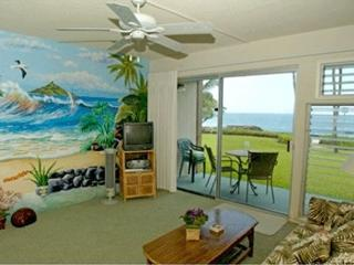 Oceanfront condo just feet from the ocean in beautiful Kona, Hawaii