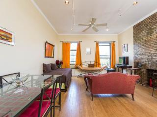 2-Bedroom Private Apt, Historic Harlem Brownstone, New York City
