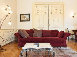 AAAA Stylish historic flat with fire-place and balcony!