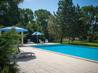 Le Trabet: LE PALMIER - luxurious gite in the countryside close to Carcassonne
