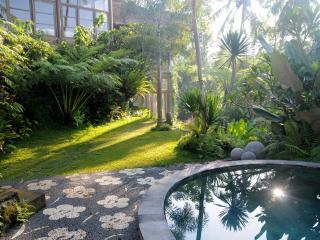 Luxury villa overlooking a rice field valley, Ubud, Tegalalang