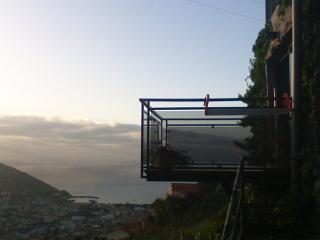Panoramic view of see and mountain, Machico