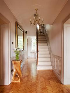 Front hallway in Main House