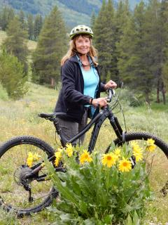 Mountain Biking and Wildflowers!