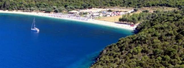 Antisamos beach, filming of captain corelli