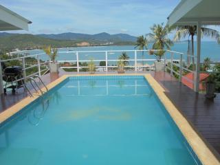 Villa avec piscine et belle vue sur la mer, Bophut