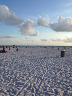 Clearwater beach : home of pristine white sand