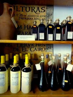 Wines, honey, cheeses, fresh breads  fantastic olive oils all made in Frigiliana