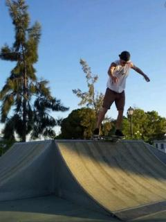 New skate board park opened two years ago - 10 mins walk from your apartment