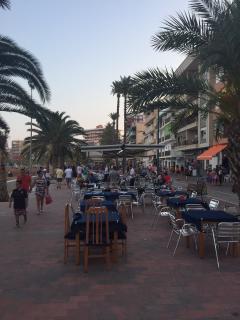 Evening promenade Puerto de Mazarron