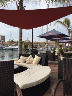 Restaurants. Puerto de Mazarron