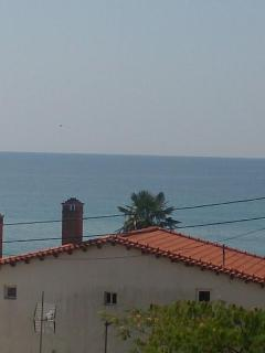 Sea view from the balcony