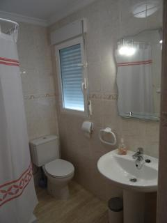 Bathroom with shower at ground floor