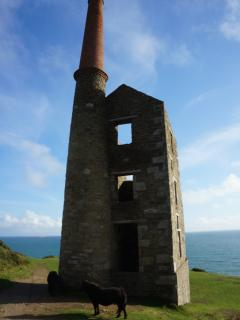 Wheal Prosper - preserved engine house at Rinsey.