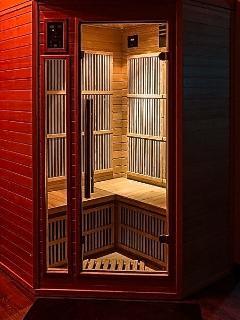 Sauna 2/3 personnes infra-rouge Appart Spa 21 à Dijon