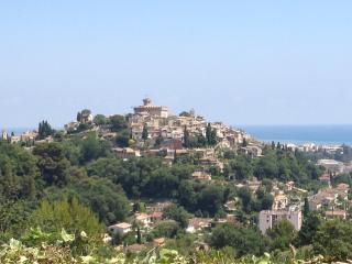 Makalös utsikt över Medelhavet en kvart från Nice, Cagnes-sur-Mer
