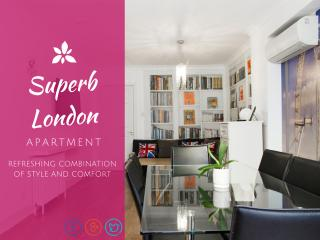 EXTREMELY CENTRAL➤huge flat➤A/C—3½ Bath—easy entry, London