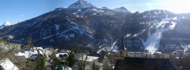 Le Prorel et la piste Luc Alphand en saison d'hiver