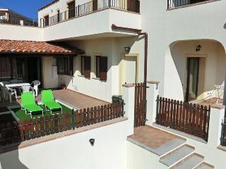 Appartamento con grande veranda