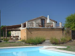 Les Cardayres,  stone farmhouse with private pool