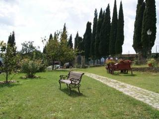 Il giardino con vista panoramica