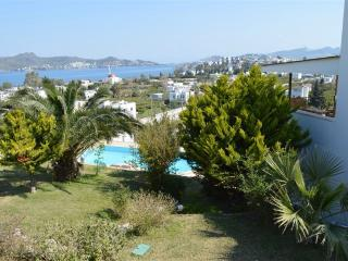Nice sea and marina view, private swimmingpool