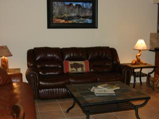 Living Room with Coach and Sofa Sleeper