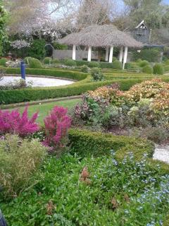 Rockvale Gardens Weston Oamaru formal private garden open to the public.Donation entry.