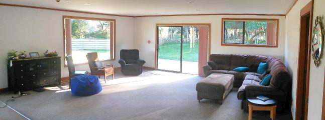 Large open plan lounge