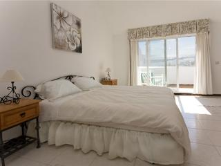 Master bedroom is en-suite and has terrace with sea views