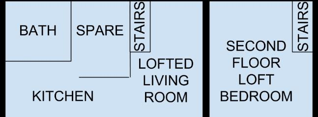 Floorplan, 1st & 2nd Floor