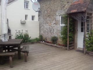 Gite entrance/ private terrace