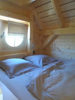 Chambre parentale lit 160 x200 cm