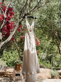 Ibiza wedding venues - wedding dress