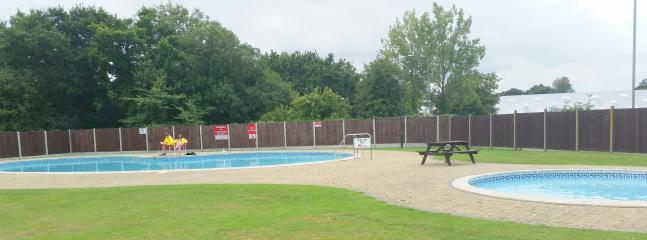 Swimming Pool (note this area now has a fence for safety)