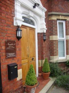 The front door!